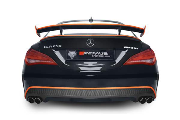 Remus Exhaust on Mercedes