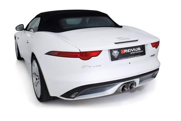 Jaguar Remus Exhaust