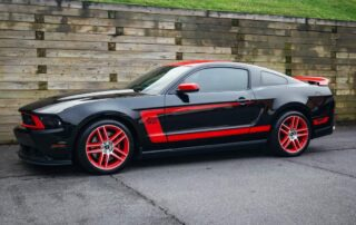 Black Mustang PPF Coating