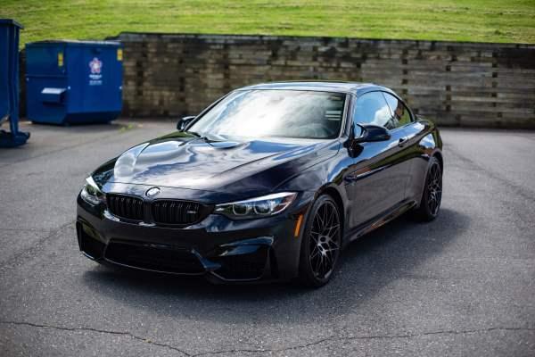 BMW M4 Car Detailing Charlotte