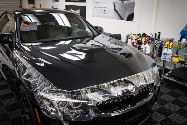 BMW Hood PPF Installation