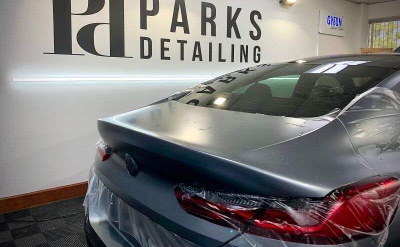BMW Rear PPF Installation