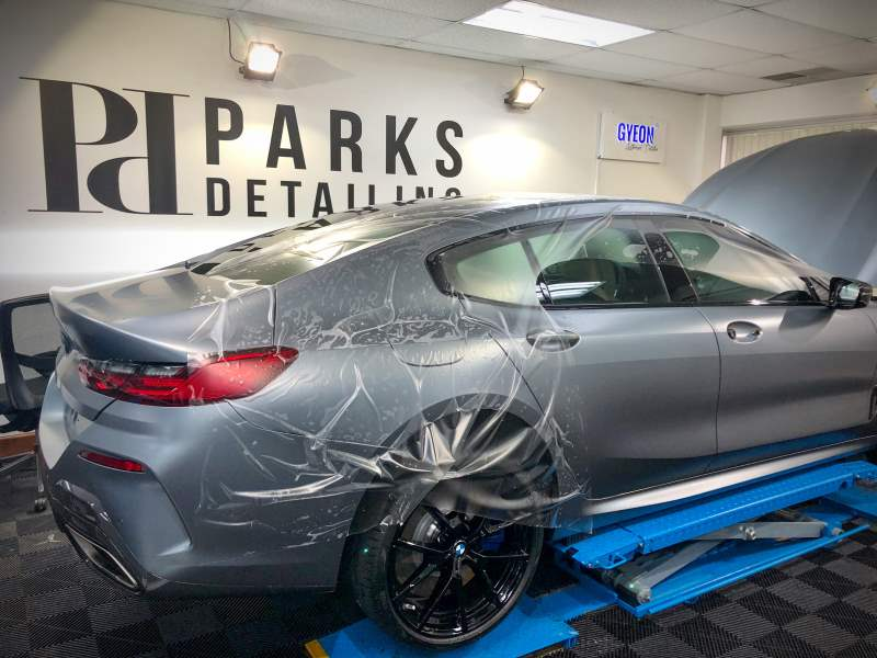 BMW 850i Gran Coupe PPF Installation