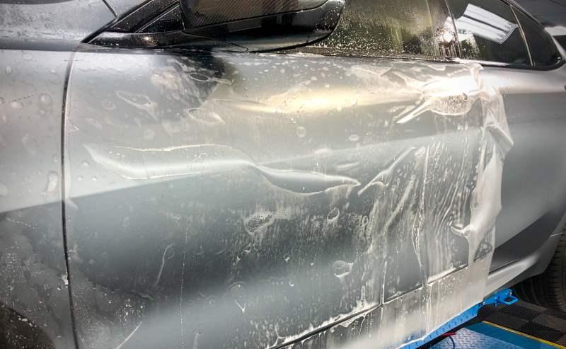 BMW 850i PPF Installation