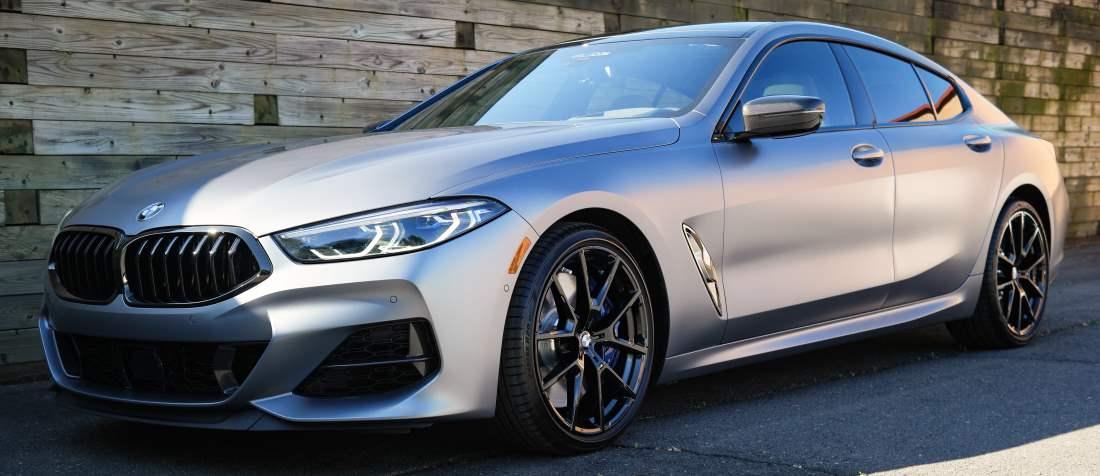 2020 BMW 850i M Sport xDrive Gran Coupe – Frozen Bluestone Metallic