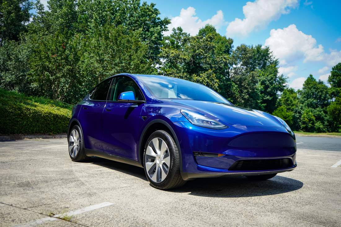 Protecting a Tesla Model Y using Paint Protection Film and Ceramic Coatings