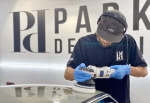 Paint ProtectionFilm Installation Porsche 911 RSR