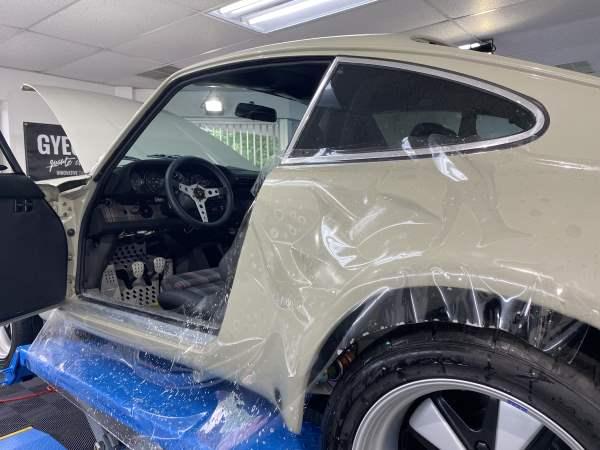 Porsche 911 RSR Paint Protection Film