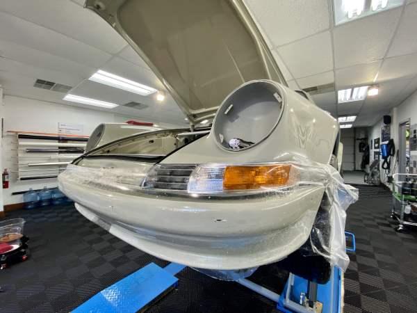 Porsche 911 clear bra installation