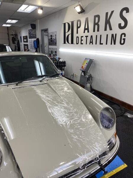 Porsche 911 PPF Installer