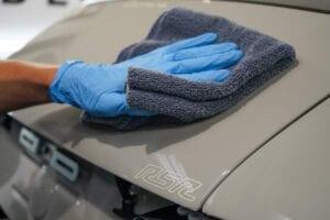 Porsche 911 car paint protection film installers