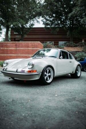 Porsche 911 RSR ppf coating