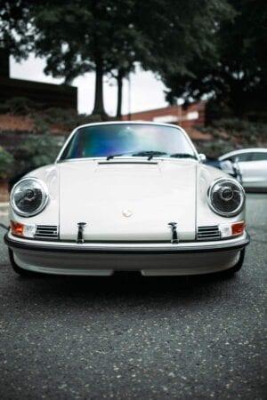 Porsche 911 RSR paint correction