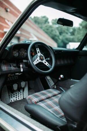 Porsche 911 interior car detailing