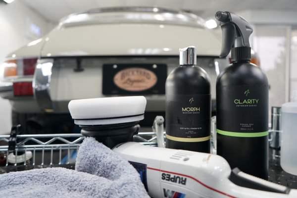 Porsche 911 RSR & Nv Car Care Products