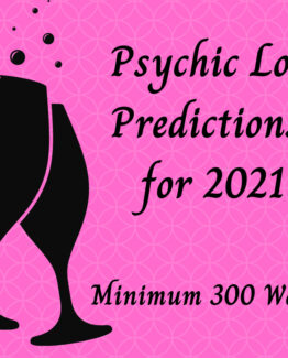 Psychic Love Predictions For 2021 – Minimum 300 words  – Includes 3 Card Oracle Card Reading