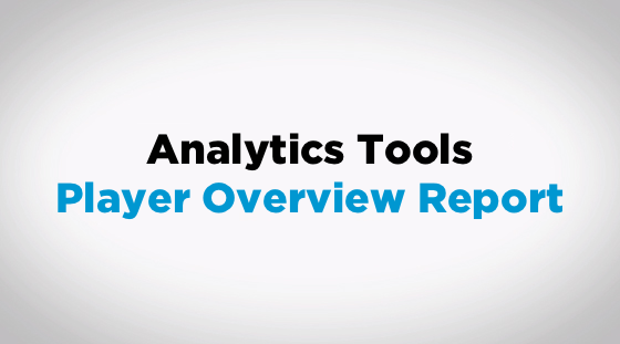 Analytics Academy: Just Play Player Overview Report