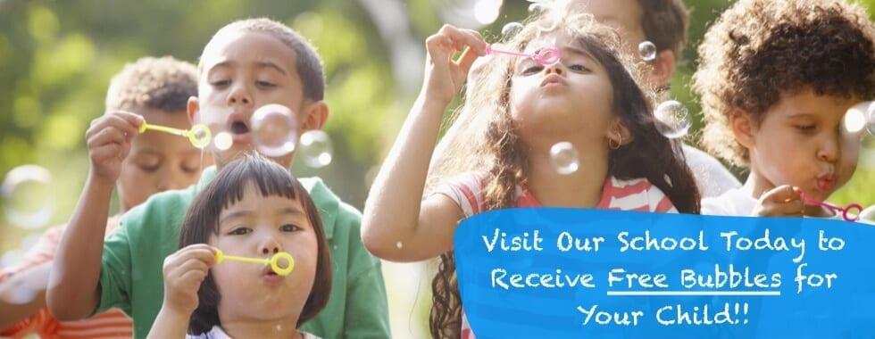Free Bubbles Daycare
