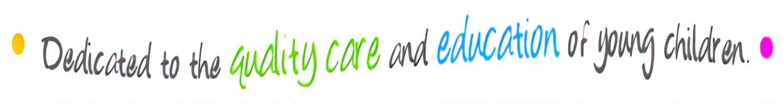 Dedicated Daycare Logo