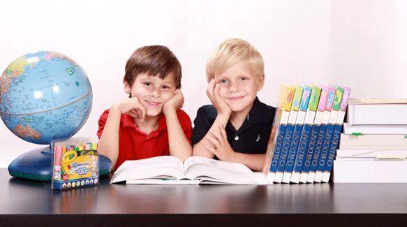 Preschoolers in a classroom