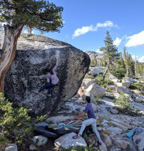 Tuolumne Bouldering: Girl Beta & Videos
