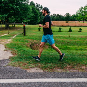 Personal trainers of Mobile, Alabama running.