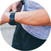 Workout watch for personal training near Mobile, Alabama.