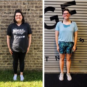 Mary Bradford successfully lost weight and kept it off through personal training.