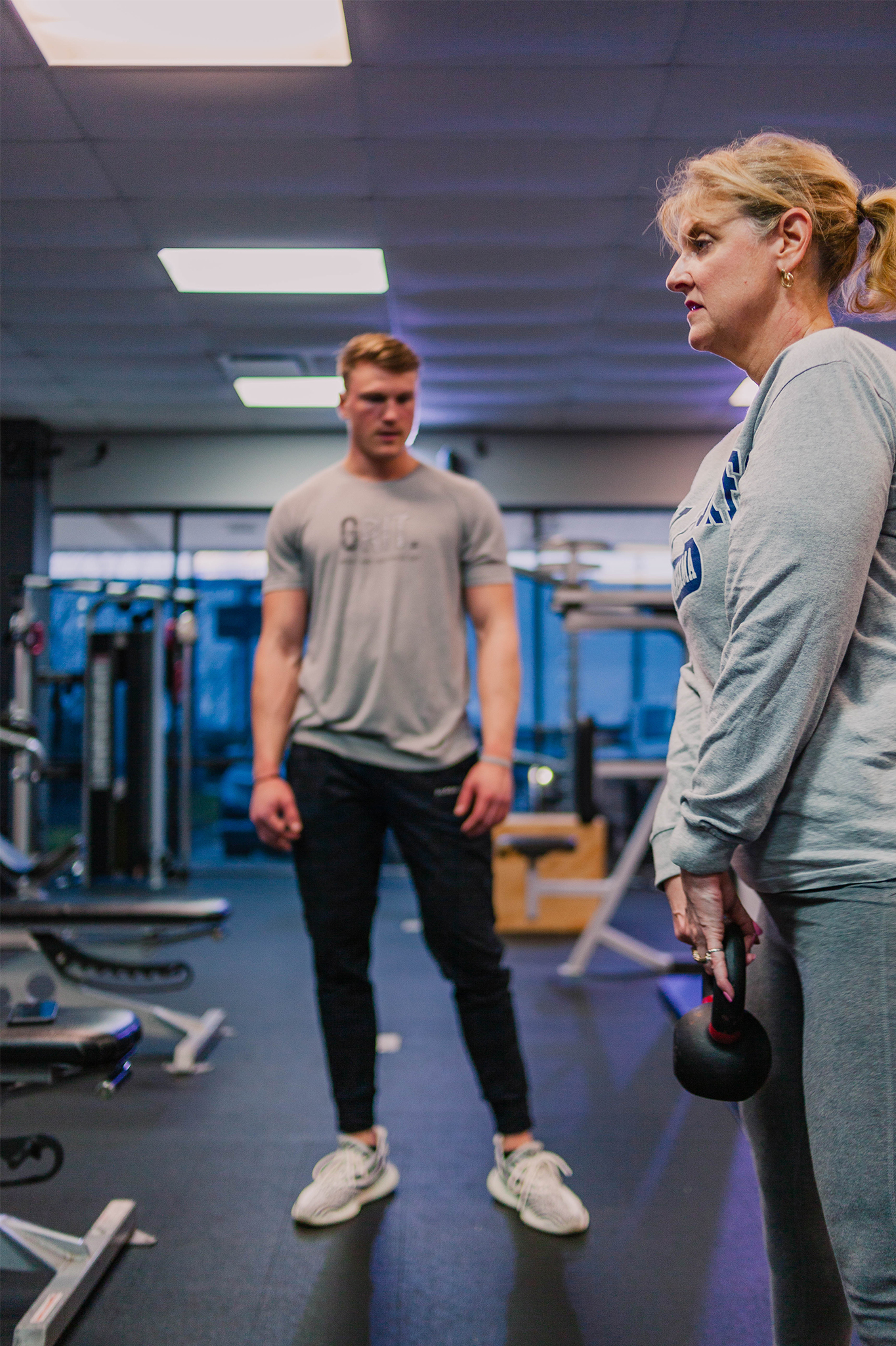 Push yourself through engaging in personal fitness in Mobile, Alabama.