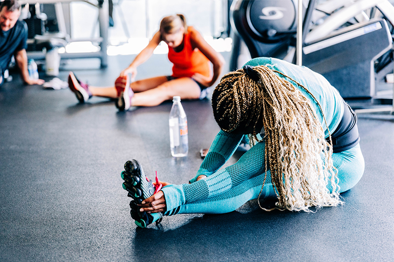 Importance of stretching for fitness health