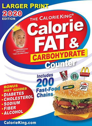 calorieking book