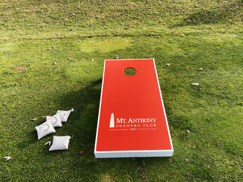 Custom Corn Hole Board Graphic