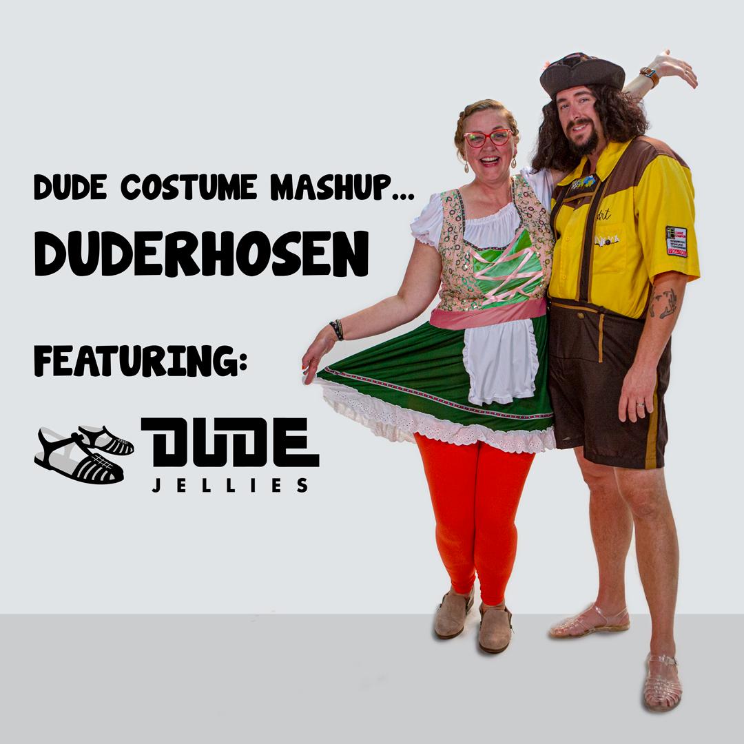 Lebowski Costume Mashup: Duderhosen