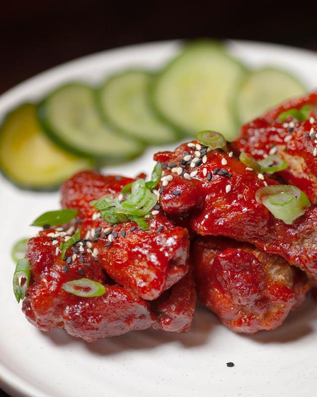 brunch Mokpo Chicken Wings Farmers Market Fresh Shared plates vegetarian Small plates