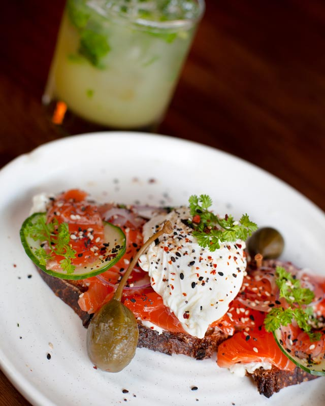 brunch House Cured Salmon Farmers Market Fresh Shared plates vegetarian Small plates