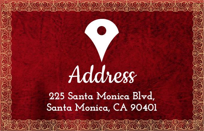 Address 225 Santa Monica Blvd Santa Monica CA 90401