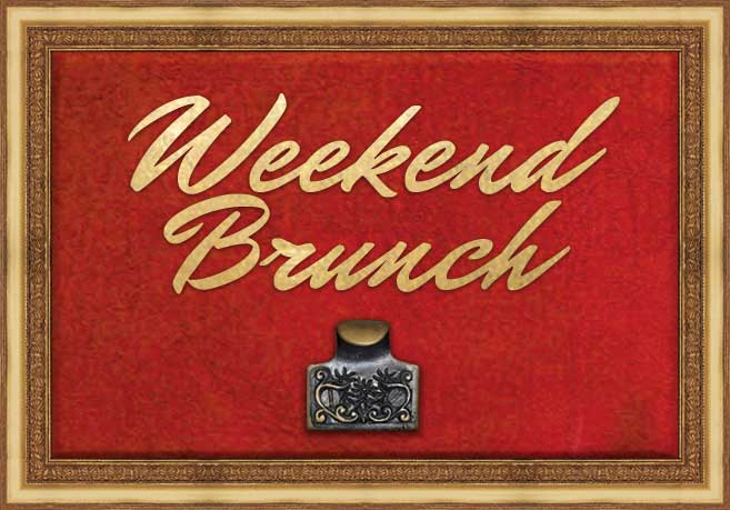 weekend brunch food menu
