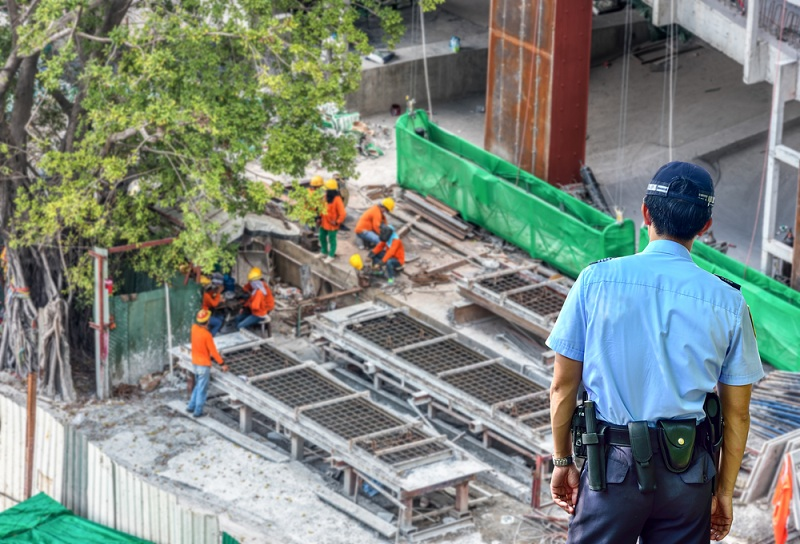 Construction Secruity Guard Services