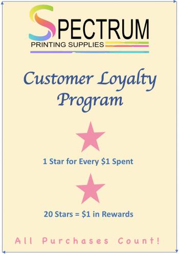 Customer Loyalty at Spectrum Printing Supplies