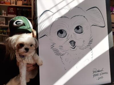 caricature example dog 2