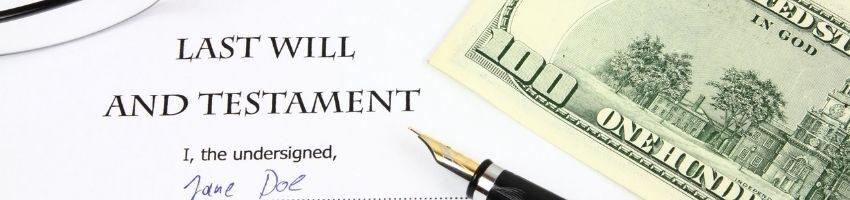 legal estate documentation that outlines the assets you want to be distributed after your death
