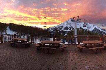 dining in big sky