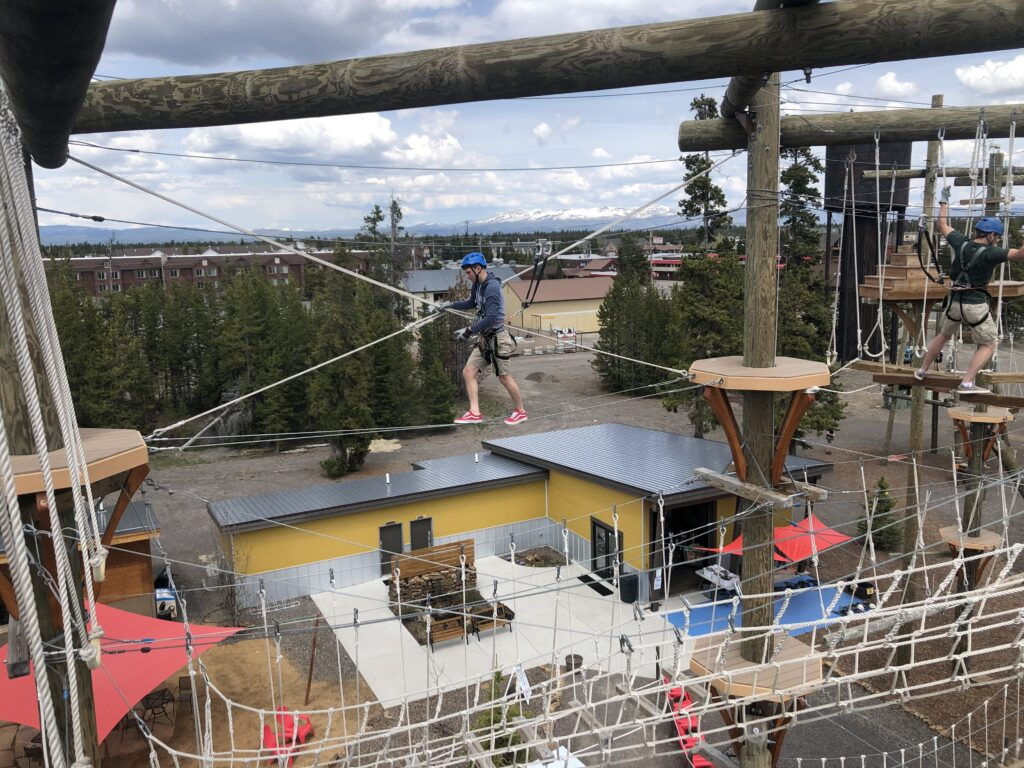 yellowstone aerial adventures has some of the best ziplines around big sky