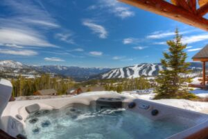hot tub views from moonlight basin