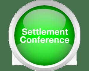 neutral settlement conference button