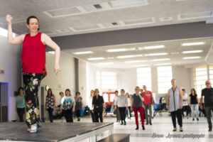 Cours danse en ligne urbaine Studio AreaVog