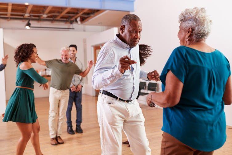 Dépression et Maladie de Parkinson. Le pouvoir de la danse