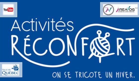 Activités réconfort Ville de Québec 2021