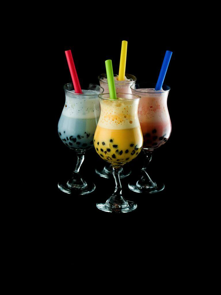 Major bubble tea brands - food tech news in asia