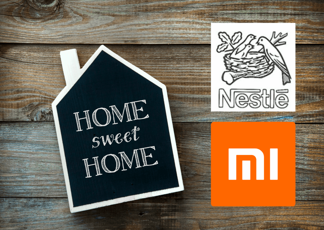 Nestle China and Xiaomi in China - food tech news in Asia